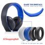 替換耳罩適用SONY CECHYA-0083 PS4 7.1 gold 索尼 金耳機 耳機罩 頭梁 海綿套 耳墊 耳套