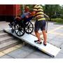 (斜坡板斜坡墊我最便宜)BH294 x75CM 輪椅重機 搬貨 上下車上下樓梯爬坡板爬坡道 登車板登車梯 無障礙坡道板
