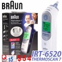 【百靈 Braun】 電子耳溫計/ 耳溫槍 Braun ThermoScan 7 IRT6520 Digital Ear Thermometer Age Precision Baby  Adult