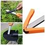AFON 便攜式雙面折疊口袋鑽石刀鋒利石磨刀工具 8805388