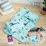 [滿額免運]專利吸濕排汗涼被睡墊童枕3件組(睡袋/嬰兒床墊) 天絲 MIT 動物草原 [艾拉寢飾]