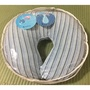 郵寄免運 二手 ohoh-mini 歐歐咪妮 專櫃 多功能授乳枕 哺乳枕 鯨魚藍 藍色條紋
