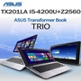 ASUS Transformer Book Trio TX201LA-CQ004H i5-4200U Win8+Android11.6