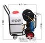 噴霧器 60L推車式四輪電動噴霧器農用噴藥機園林多功能高壓打藥機噴霧機JD 智慧e家