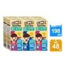 【Nestle 雀巢】克寧超級成長國小生牛奶198mlx24入x2箱(共48入)