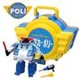 POLI波力 手提基地玩具組-警察車