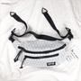 PSGB 菱格造型 防潑水 胸背包 側背包 (PMB-0172)