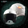JARVISH Flash F1 3/4 智慧安全帽 白 XXL 白色