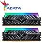 ADATA 閃電狼(三星B-DIE) XPG SPECTRIX D41 DDR4-3200 8G*2 RGB記憶體 鈦灰