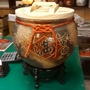 今綻代理-(含腳架)鶯歌20斤陶瓷米甕,含腳架特價中