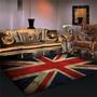 【裝飾】英倫復古個性創意長方形英國旗米字旗地毯客廳沙發茶幾墊臥室地墊