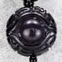 【法珠天藏】黑金剛法輪天眼珠天珠項鍊