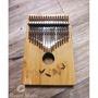 【羅可音樂工作室】ENYA 恩雅 17音 Kalimba 卡林巴琴 拇指琴 楠竹 單板 附厚琴包