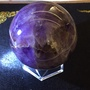 虎牙紫水晶🔮球(紫度很深,特價出清)