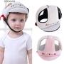 【現貨免運】寶寶防摔頭保護帽 嬰兒學步防撞帽 防摔帽 兒童安全頭盔護頭帽 嬰兒帽