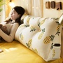 ins三角床上靠枕床頭板軟包雙人臥室沙發網紅公主靠墊抱枕大靠背3
