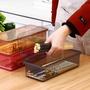 筷子筒 筷子盒廚房家用塑料筷子架帶蓋防塵瀝水勺子盒便捷餐具刀叉收納盒 【晶彩生活】
