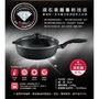 深煎鍋28cm全聯【CorelleBrands 康寧餐具】瑞士原裝 Swiss Diamond XD 瑞仕鑽石鍋 含鍋蓋