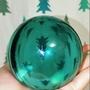 🌋火山琉璃-綠曜石晶球-7.7公分🌋