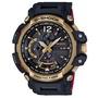 G-SHOCK35周年第二紀念款-金捲飛行黑紅撞色電波錶(GPW-2000TFB)57mm