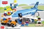 [BRICK SHOP] 43237-178100 - Airport Passenger Terminal with Airplane Jumbo Jet, Lego Duplo Compatibl