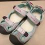 加拿大 Kamik 包頭護趾魔鬼氈運動涼鞋  鞋子 內側USA4 EU36 少穿極新