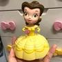 迪士尼 美女與野獸 貝兒 公仔玩具