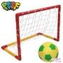美國POOF 幼兒攜帶式足球球門組.3歲以上.兒童體能.內附5.5吋軟質足球