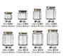 布丁瓶 奶酪瓶 果醬瓶 (含蓋)醬料瓶 XO醬瓶 分裝瓶 展示瓶 樣品瓶 六角瓶 廚房餐具 《維克精選》