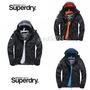 特價促銷 極度乾燥 Superdry 三層拉鍊 防風 防潑水 薄款外套 連帽風衣外套 男款夾克衝鋒衣戶外登山服
