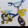 POLI波力腳踏車 12吋含前籃、輔助輪、後座椅