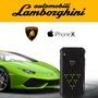 義大利藍寶堅尼Lamborghini 授權iPhone X頂級Alcantara麂皮手機背殼
