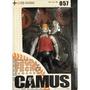 【現貨單盒銷售.日本盒玩】海洋堂山口式可動玩具西田照道.飾演卡謬 Camus DMC的鼓手.重金搖滾雙面人