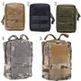 軍事戰術多功能腰包戶外袋工具拉鍊腰包配件耐用皮帶袋
