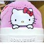 全新正品 Converse x Hello Kitty ONE STAR  粉、黑 聯名
