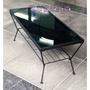 日本仔家具屋 KASUMI( 寬750)X深450mm黑透光強化玻璃茶几書桌餐桌工作桌電腦桌(貼防爆膜!安全)免運