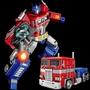 AA~變形玩具金剛5擎天模型柱機器人汽車合金男孩兒童玩具粵星mmp10 BX