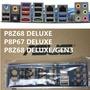 ASUS 華碩 P8P67 DELUXE、P8Z68 DELUXE 全新原裝加厚海綿 後擋板 後檔片