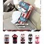 #現貨# 魔法荳荳 漫威卡通 車用面紙盒 卡通面紙盒 可掛式面紙盒套 汽車椅背面紙套  美國隊長 蜘蛛人 鋼鐵人 超人