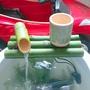 竹子流水 竹筒流水 流水器 竹惊鹿 假山 流水 庭院 造景 竹子排 魚缸 石槽  裝潢 擺件 客廳 創意 工藝品 擺件