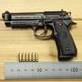 1:2.05合金帝國拋殼槍模型金屬合金BERETTA M92A1 可拆卸不可發射
