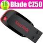 SanDisk 16GB 16G Cruzer Blade【CZ50】CZ50 USB 2.0 隨身碟