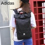Adidas 3D Roller-top Backpack, Sport-chic Men's and Women's Bags