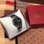 ONTHEEDGE鎢鋼雙曆石英防水商務手錶