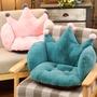 日式 小椅墊 可愛連體坐墊靠墊一體地毯地上日式日式子榻榻米夏天透氣小椅墊