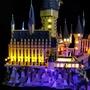 【高檔展示盒】適用樂高71043哈利波特城堡燈飾LEGO積木燈具霍格沃茲城堡LED燈光