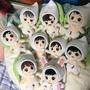 [全新] EXO 韓飯娃衣 帽子 玩偶 20CM 娃娃 現貨 韓國 娃娃配件 伯賢 世勳 暻秀 珉錫 可愛 絕版 代購