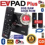 #Free Gift# EVPAD PLUS Easy TV Box EVOD SMART Box 1 Year Local Warranty SAFETY Mark