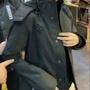 衣子本舖 法國空運名牌正品黑豹最高規格等級防風防潑水保暖雪衣機能型連帽多口袋外套帥氣黑色 預購免運 妻夫木聰最愛品牌