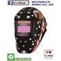WELDMASK威帽 850RM彩繪貼款 SU8,四顆感應器,可調遮光度DIN 5-8/ 9-13,配置新款雙環舒適帽帶,雙電池,適用CO2,氬焊